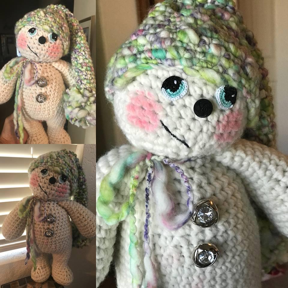 crochet snowbabe by deanne crim